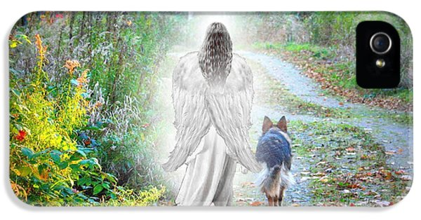 Memorial iPhone 5 Cases - Come Walk With Me iPhone 5 Case by Sue Long