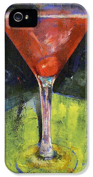 Comfortable Cherry Martini IPhone 5 / 5s Case by Michael Creese