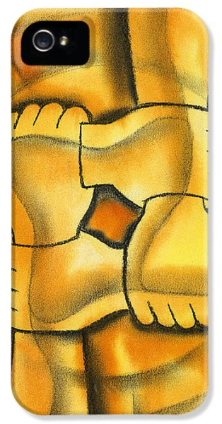 Cooperation iPhone 5 Cases - Communication iPhone 5 Case by Leon Zernitsky