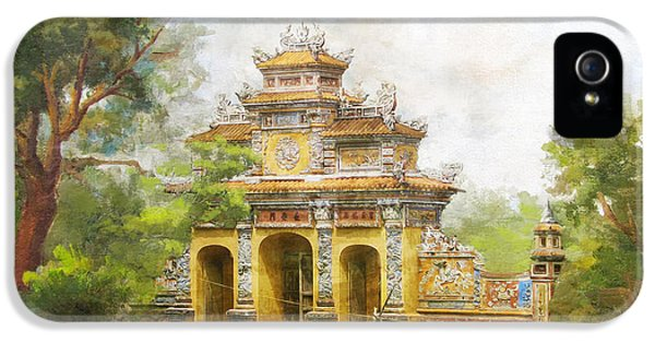 Color Effect iPhone 5 Cases - Complex of Hue Monuments iPhone 5 Case by Catf