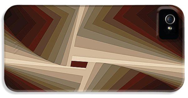 Composition 162 IPhone 5 / 5s Case by Terry Reynoldson