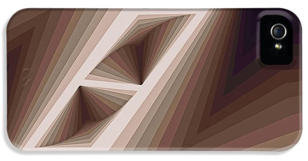 Composition 165 IPhone 5 / 5s Case by Terry Reynoldson