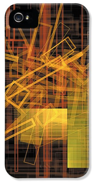 Composition 26 IPhone 5 / 5s Case by Terry Reynoldson