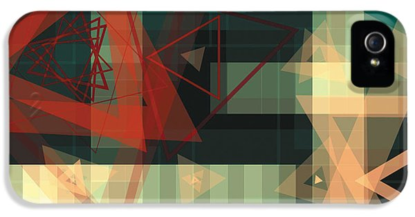 Digital iPhone 5 Cases - Composition 36 iPhone 5 Case by Terry Reynoldson
