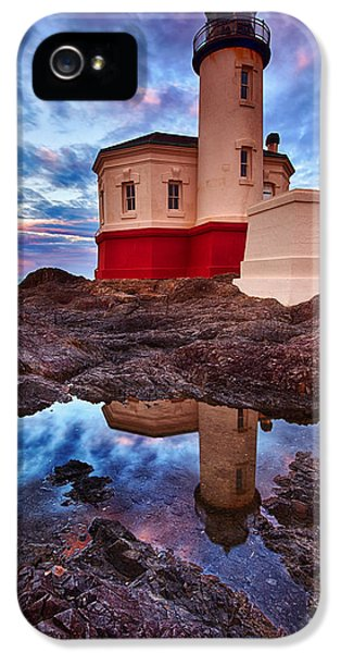 Oregon Coast Landscapes iPhone 5 Cases - Coquille Rising iPhone 5 Case by Darren  White
