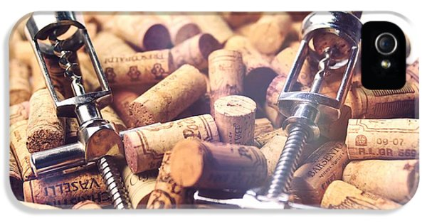 Work Tool iPhone 5 Cases - Corks and Corkscrews  iPhone 5 Case by Stefano Senise