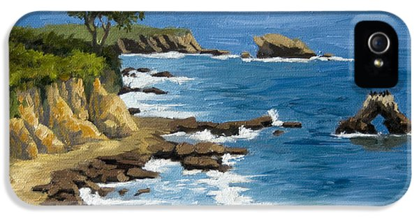 Orange County iPhone 5 Cases - Corona del Mar California iPhone 5 Case by Alice Leggett