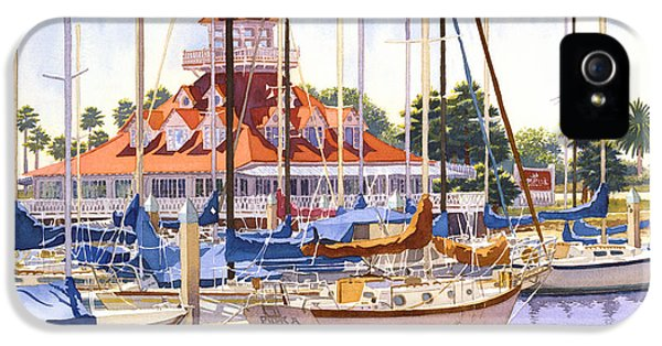 Coronado Boathouse IPhone 5 / 5s Case by Mary Helmreich