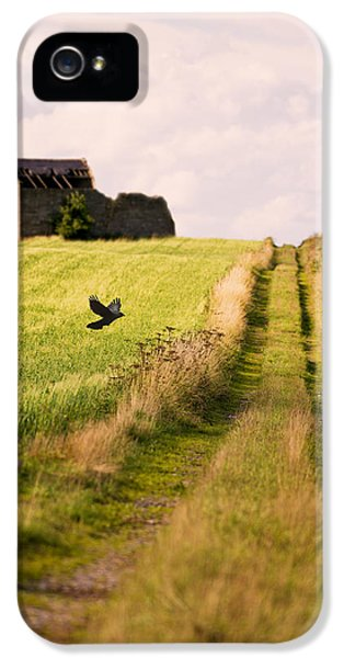 Country iPhone 5 Cases - Country Lane iPhone 5 Case by Amanda And Christopher Elwell