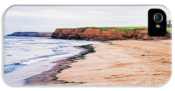 Prince iPhone 5 Cases - Cousins Shore Prince Edward Island iPhone 5 Case by Edward Fielding