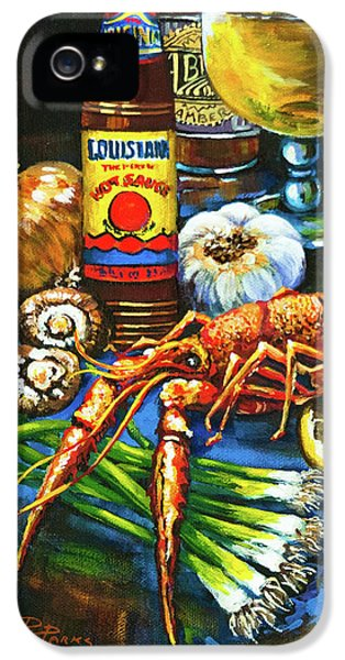 Crawfish Fixin's IPhone 5 / 5s Case by Dianne Parks