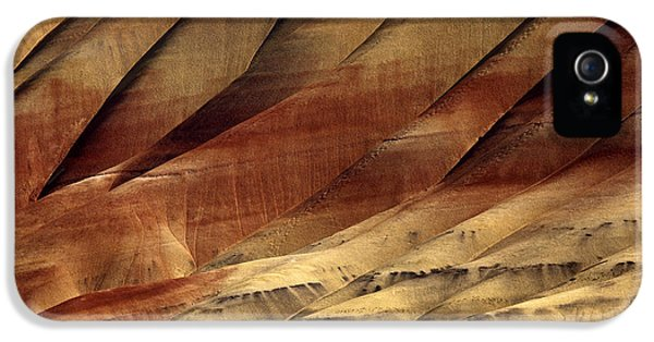 National Monuments iPhone 5 Cases - Crimson and Gold iPhone 5 Case by Mike  Dawson