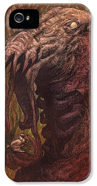Sci Fi Art iPhone 5 Cases - CroakJaw  iPhone 5 Case by Ethan Harris