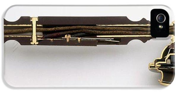 Cross-section Through Telephone Handset IPhone 5 / 5s Case by Dorling Kindersley/uig