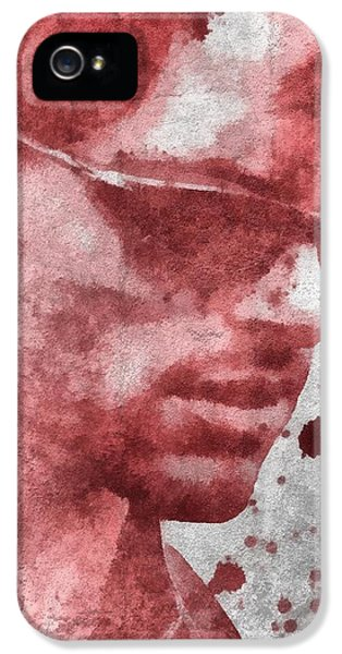 Cyclops X Men Paint Splatter IPhone 5 / 5s Case by Dan Sproul
