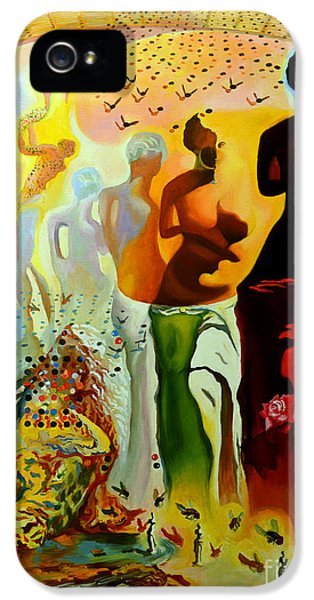 Dali Oil Painting Reproduction - The Hallucinogenic Toreador IPhone 5 / 5s Case by Mona Edulesco