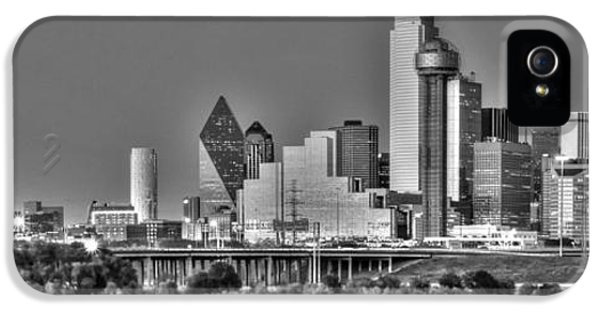 Dallas The New Gotham City  IPhone 5 / 5s Case by Jonathan Davison