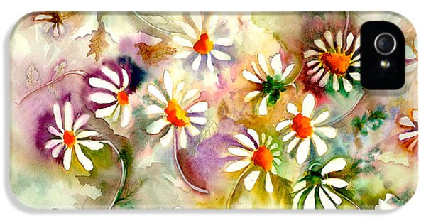 Dance Of The Daisies IPhone 5 / 5s Case by Neela Pushparaj