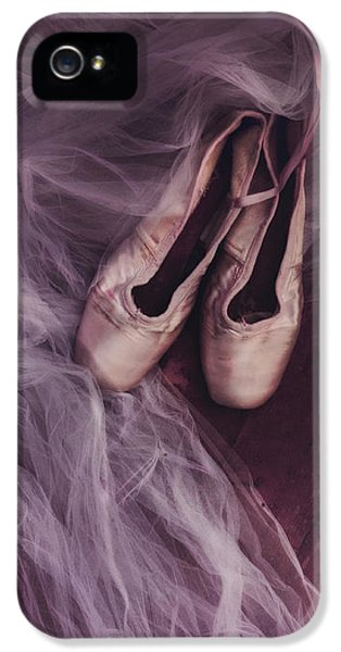 Dance iPhone 5 Cases - Danse Classique iPhone 5 Case by Priska Wettstein