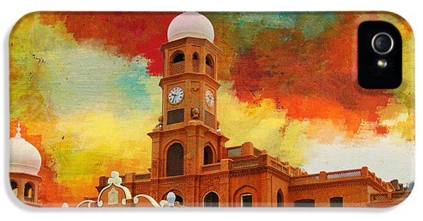Pakistan iPhone 5 Cases - Darbar Mahal iPhone 5 Case by Catf