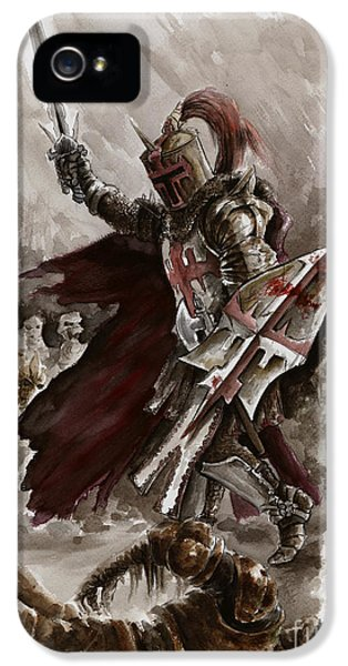 Dark Crusader IPhone 5 / 5s Case by Mariusz Szmerdt