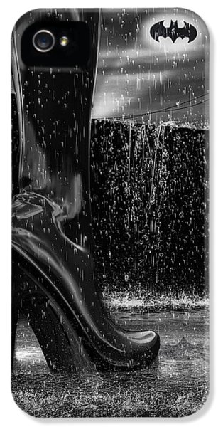 Culture iPhone 5 Cases - Dark Knight Shinny Boots Of  Leather iPhone 5 Case by Bob Orsillo