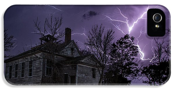 Forgotten iPhone 5 Cases - Dark Stormy Place iPhone 5 Case by Aaron J Groen