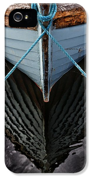 Fishing iPhone 5 Cases - Dark waters iPhone 5 Case by Stylianos Kleanthous