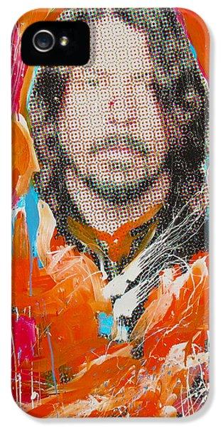 Dave Grohl iPhone 5 Cases - Dave Grohl iPhone 5 Case by Elliott From