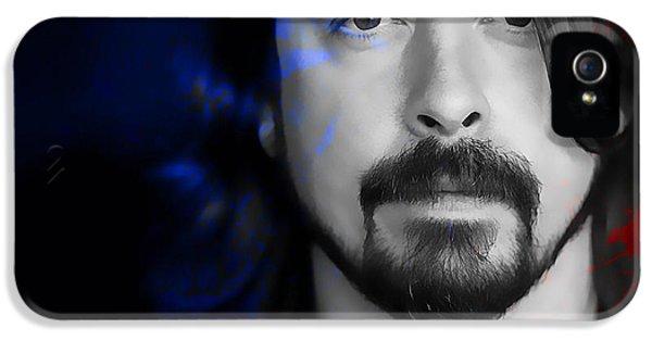 Dave Grohl iPhone 5 Cases - Dave Grohl iPhone 5 Case by Marvin Blaine