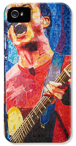 Close iPhone 5 Cases - Dave Matthews Squared iPhone 5 Case by Joshua Morton