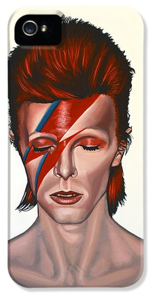 David Bowie Aladdin Sane IPhone 5 / 5s Case by Paul Meijering