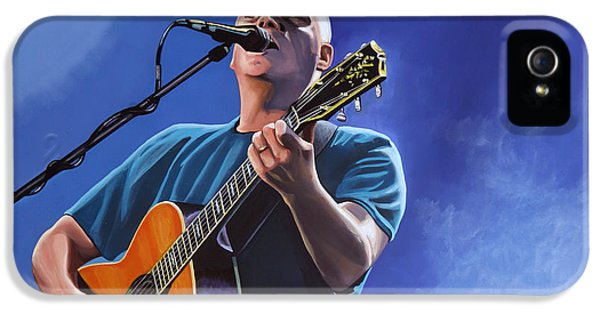 Spotlight iPhone 5 Cases - David Gilmour iPhone 5 Case by Paul  Meijering