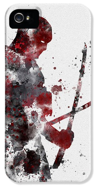 Featured iPhone 5 Cases - Deadpool iPhone 5 Case by Rebecca Jenkins