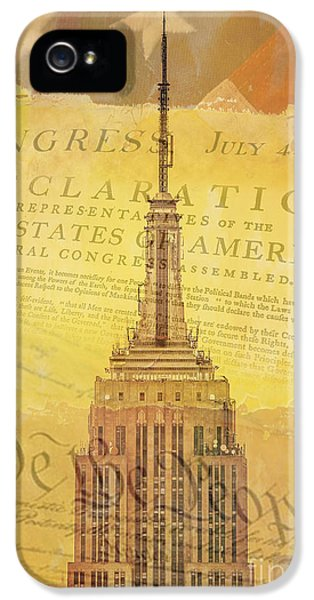 Fourth iPhone 5 Cases - Liberation Nation iPhone 5 Case by Az Jackson