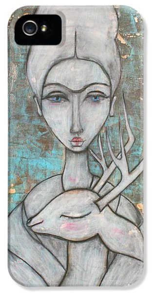 Deer Frida IPhone 5 / 5s Case by Natalie Briney