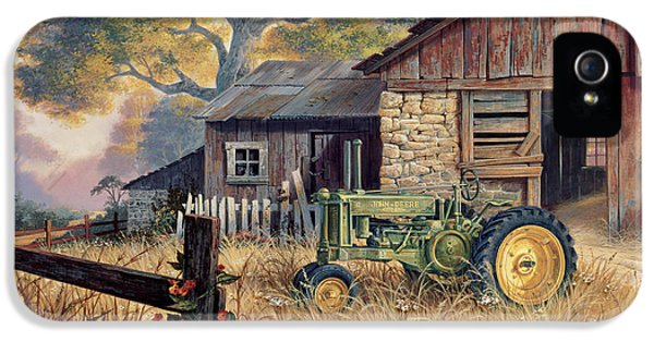 Wild iPhone 5 Cases - Deere Country iPhone 5 Case by Michael Humphries