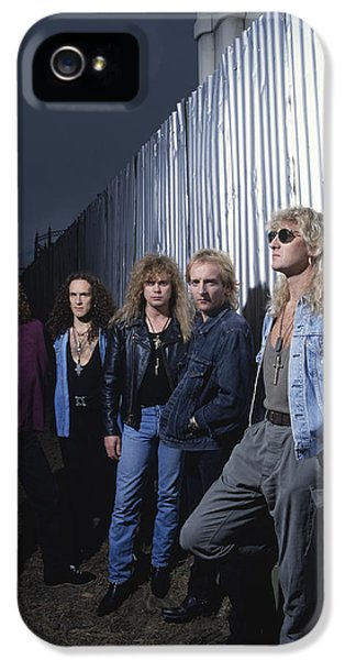 Def Leppard - Adrenalize Me 1992 IPhone 5 / 5s Case by Epic Rights