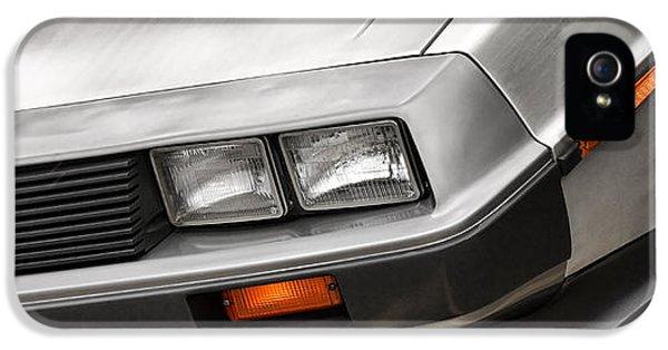 Michael J Fox iPhone 5 Cases - DeLorean DMC-12 iPhone 5 Case by Gordon Dean II