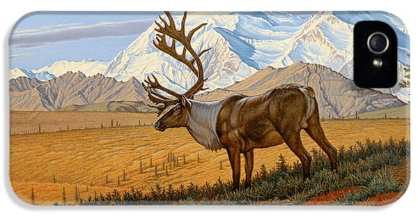 Caribou iPhone 5 Cases - Denali  iPhone 5 Case by Paul Krapf