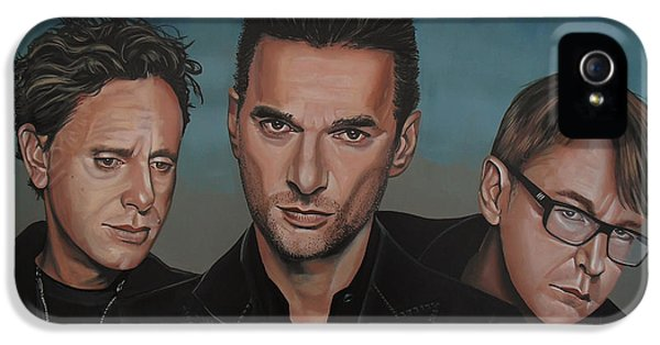 Electronic iPhone 5 Cases - Depeche Mode iPhone 5 Case by Paul  Meijering