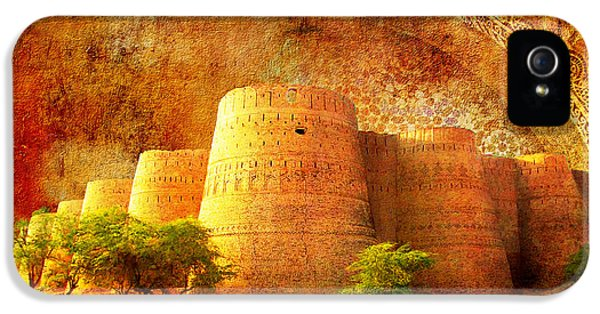 Pakistan iPhone 5 Cases - Derawar Fort iPhone 5 Case by Catf