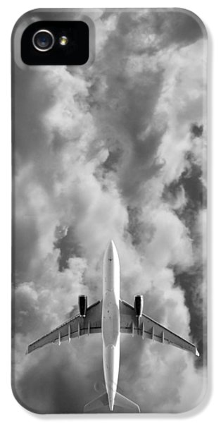 Airplane iPhone 5 Cases - Destination Unknown iPhone 5 Case by Mark Rogan