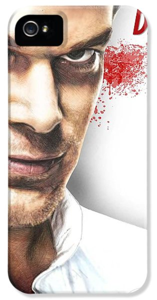 Michael C Hall iPhone 5 Cases - Dexter iPhone 5 Case by Kyle Willis