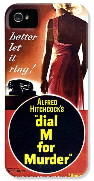 Dial M For Murder - 1954 IPhone 5 / 5s Case by Georgia Fowler
