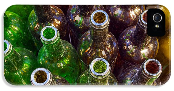 Environment Design iPhone 5 Cases - Dirty Bottles iPhone 5 Case by Carlos Caetano