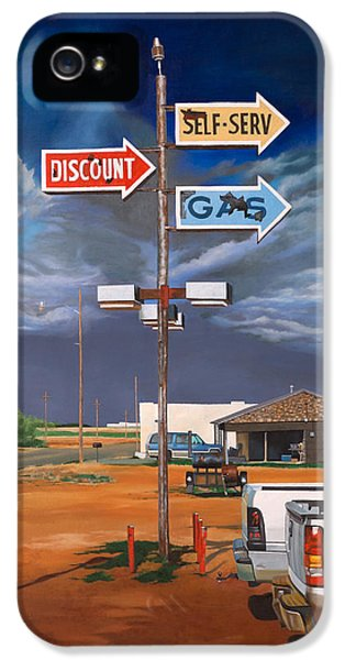 Discount Self-serv Gas IPhone 5 / 5s Case by Karl Melton