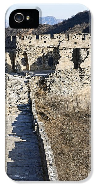Nl iPhone 5 Cases - Disrepair on the Great Wall of China iPhone 5 Case by Brendan Reals