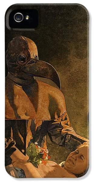 Diseased iPhone 5 Cases - Doctor Death and Child iPhone 5 Case by Matthew Frey