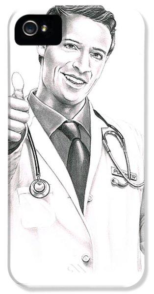 Doctor  IPhone 5 / 5s Case by Murphy Elliott